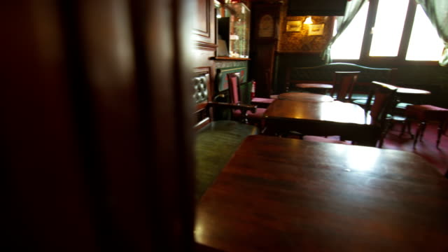 Chairs And Tables In The Pub