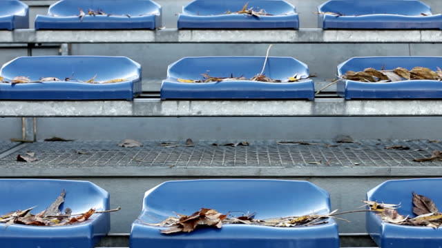 Chairs at the stadium