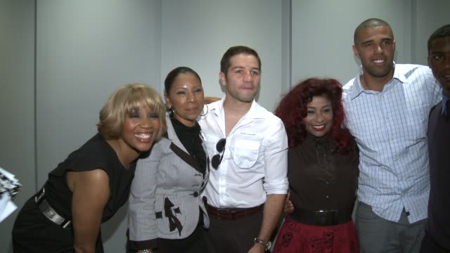 chaka khan and prophet walker at music icon chaka khan 'hangover' movies producer scott budnick unveil pilot program for incarcerated youth in los... - prophet stock videos and b-roll footage