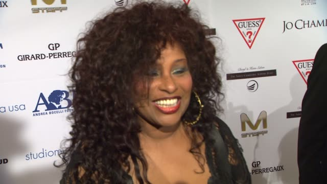 Chaka Khan on being a part of the night what she appreciates about Andrea Bocelli and the work that the Andrea Bocelli Foundation is doing on the...