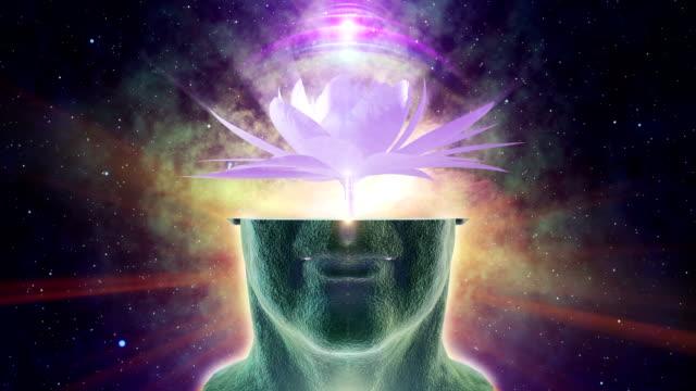 chakra activation - spirituality stock videos & royalty-free footage