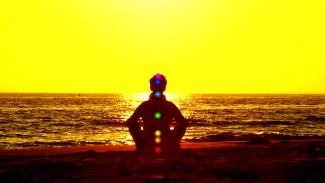 chakra (spirituality) - spirituality stock videos & royalty-free footage