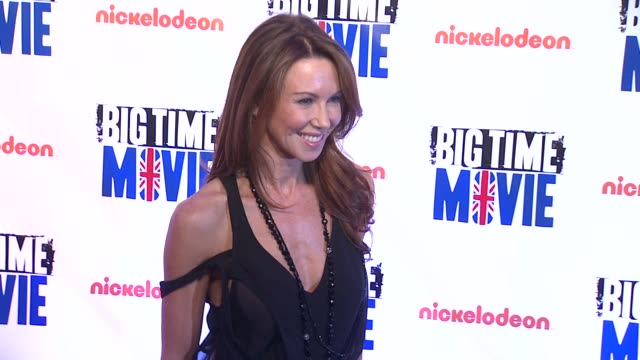 challen cates at 'big time movie' starring big time rush original tv movie premiere and nickelodeon meet & greet on 3/8/2012 in new york, ny, united... - nickelodeon stock videos & royalty-free footage