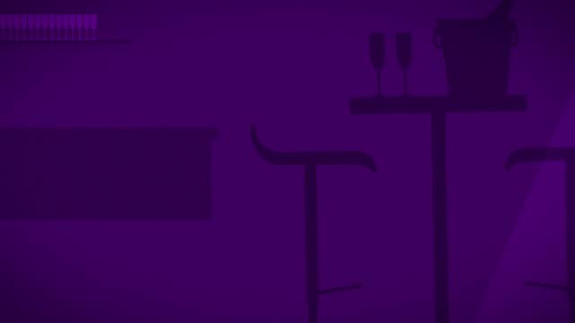 champagne bar-hd - sektkorken stock-videos und b-roll-filmmaterial