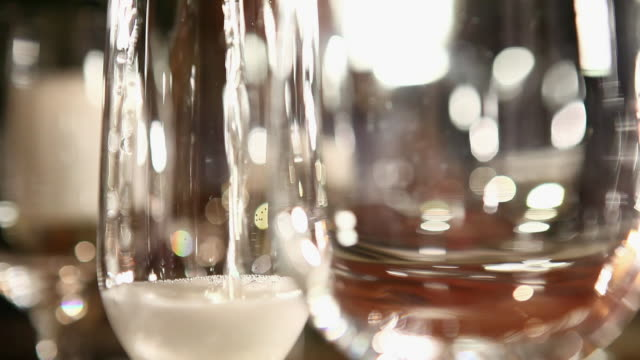 ms champagne being served / sao paulo, brazil - champagne flute stock videos & royalty-free footage