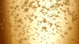 champagne bubbles (seamless loop)