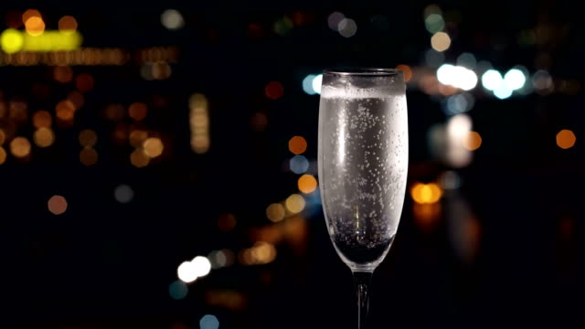 champagne glass - cocktail stock videos & royalty-free footage
