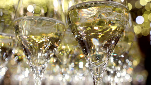 champagne is the bubbling ready to drink - champagne stock videos & royalty-free footage