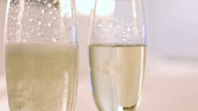 champagne pouring into glasses - container stock videos & royalty-free footage