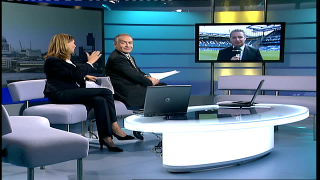 champions league 2006; england: london: gir: int ally mccoist 2-way interview sot - on the importance of the game for chelsea and how it won't be a... - ally mccoist stock videos & royalty-free footage