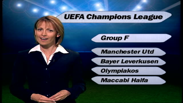 Liverpool ITN i/c with GRAPHIC UEFA Champions League