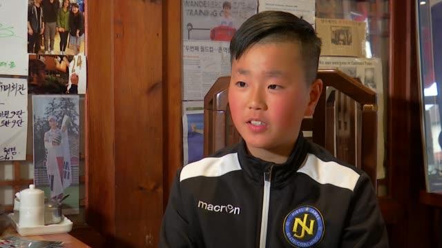 Preview of Tottenham Hotspur v Manchester City ENGLAND London New Malden INT Min Kyu Ji interview SOT On Spurs player Son Heungmin