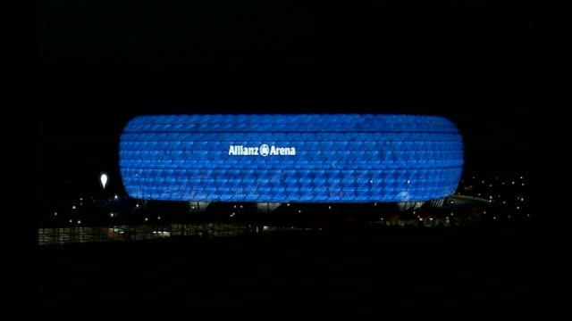 Chelsea beat Barcelona to reach final T30010629 / TX GERMANY Munich EXT General view of Allianz Arena General view of Allianz Arena