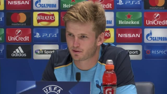 Tottenham Hotspur v Monaco preview INT Eric Dier press conference SOT