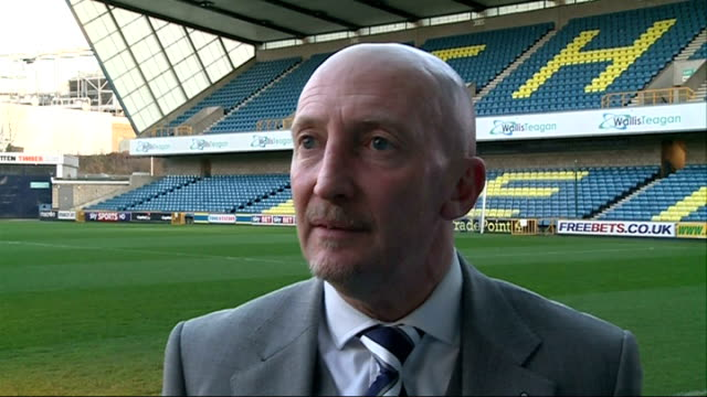 stockvideo's en b-roll-footage met millwall manager ian holloway interview england london bermondsey ext ian holloway interview sot - bermondsey