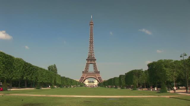 WS, ZI, TU, Champs de Mars and Eiffel Tower, Paris, France