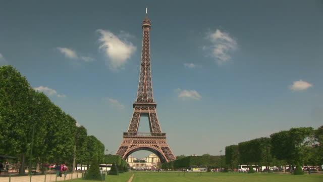 T/L, WS, Champs de Mars and Eiffel Tower, Paris, France