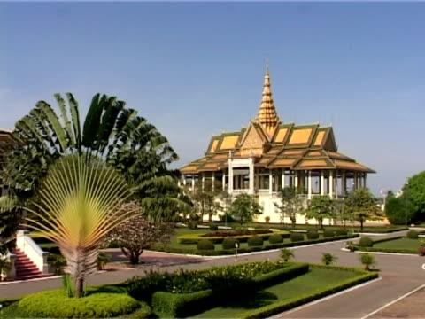 chan chaya pavillion - phnom penh stock videos and b-roll footage