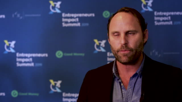 chance barnett ceo of crowdfunderadvisor at rockwell capital and general partner at decentra capital talks about the impact an individual can make... - mindfulness stock videos & royalty-free footage