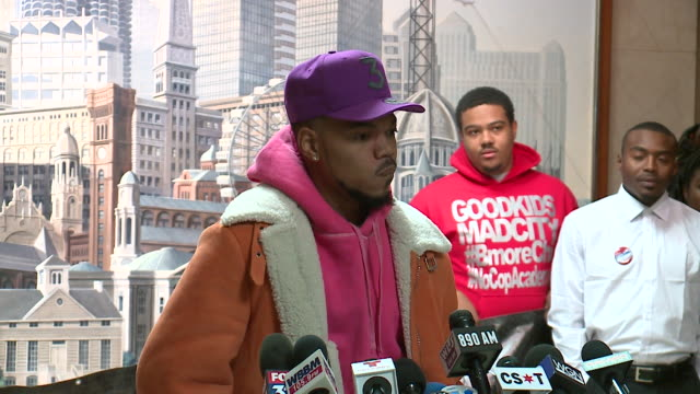 chance the rapper announced at city hall on october 16 that he is not running for mayor of chicago, and instead endorsed amara enyia , the director... - chance the rapper stock videos & royalty-free footage