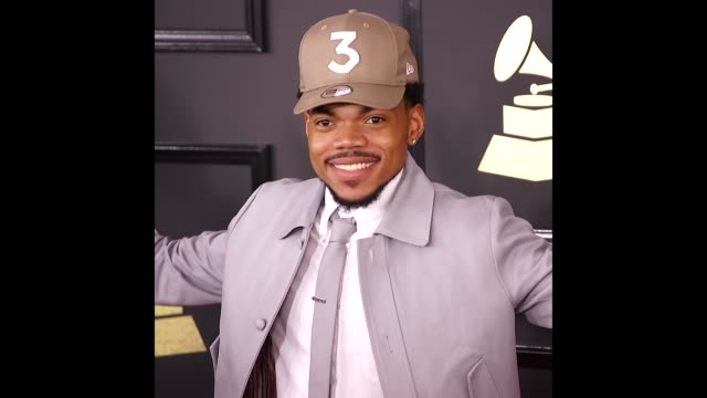 chance the rapper at 59th annual grammy awards on february 12, 2017 in hollywood, california. - chance the rapper stock videos & royalty-free footage