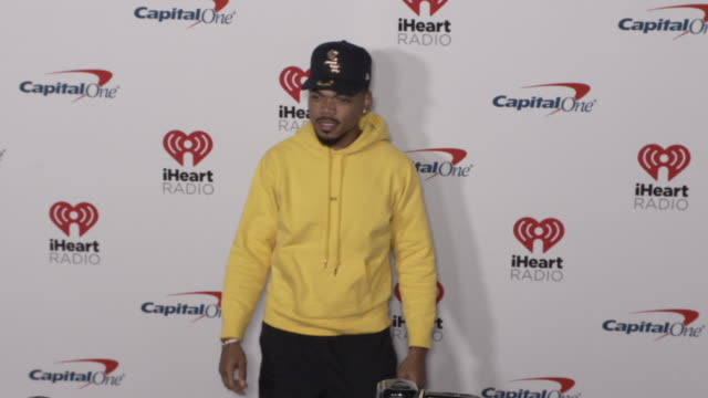 chance the rapper at the 2019 iheartradio music festival day 2 at tmobile arena on september 21 2019 in las vegas nevada - chance stock videos & royalty-free footage