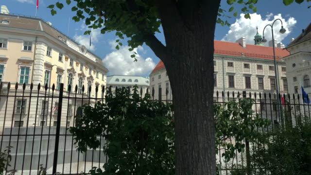 chancellery austria - österrikisk kultur bildbanksvideor och videomaterial från bakom kulisserna