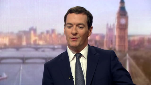 chancellor of the exchequer george osborne saying britain has more freedom as part of nato - chancellor of the exchequer stock videos and b-roll footage