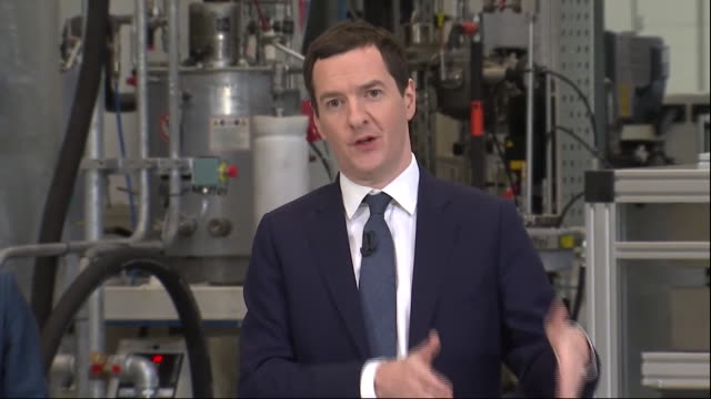 chancellor of the exchequer george osborne saying he hasn't seen any analysis from brexit campaigners on the economic benefits of leaving the eu - george osborne stock videos & royalty-free footage