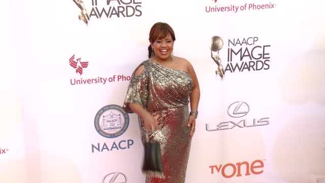 stockvideo's en b-roll-footage met chandra wilson at the 46th annual naacp image awards arrivals at pasadena civic auditorium on february 06 2015 in pasadena california - pasadena civic auditorium