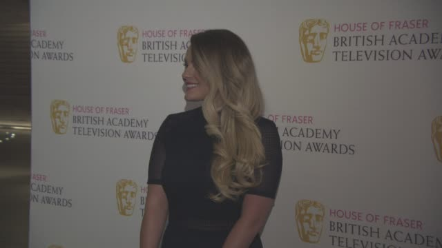 chanel cresswell at bafta tv and tv craft nominees' party at the savoy theatre on april 21 2016 in london england - chanel cresswell stock videos & royalty-free footage