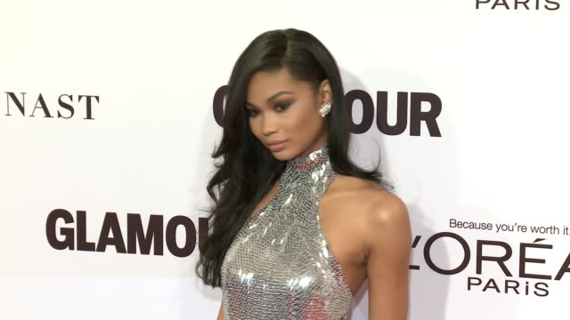 Chanel Iman at Glamour's 2016 Women of the Year at NeueHouse Hollywood on November 14 2016 in Los Angeles California