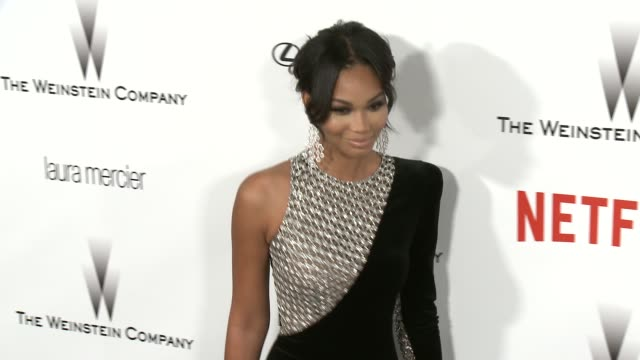 Chanel Iman at the 2015 Weinstein Company And Netflix Golden Globe After Party at Robinsons May Lot on January 11 2015 in Beverly Hills California