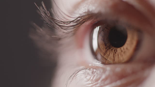 stockvideo's en b-roll-footage met verander je visie, verander je leven - bruine ogen