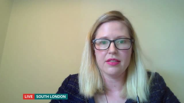 changes to furlough scheme come into effect england london gir int roy ellis and danielle parsons live 3way interview sot - furlough stock videos & royalty-free footage
