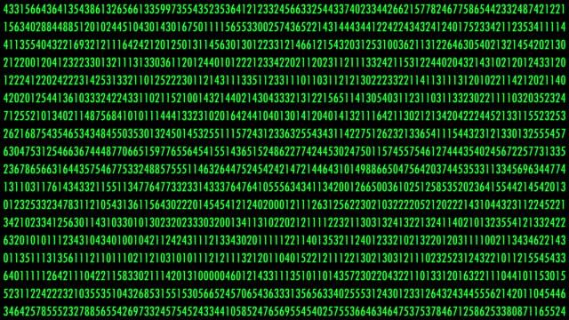 番号の変更 - 計算点の映像素材/bロール