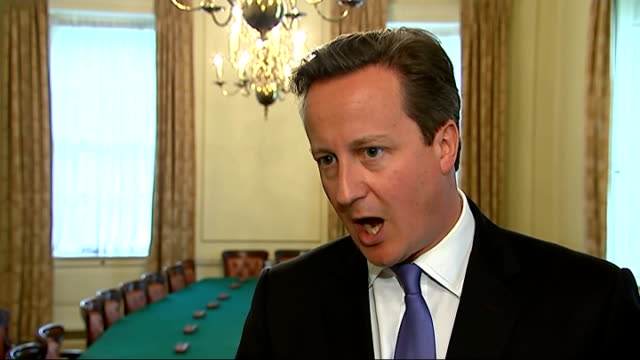 channel 4 news review of the year downing street int david cameron mp statement sot apologise unreservedly re andy coulson and phone hacking - andy coulson stock videos & royalty-free footage