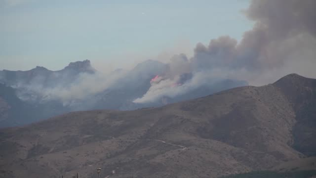 Channel Islands Air National Guard Station California accomplished 4 retardant drops between November 1314 2018 over the Woolsey Fire California