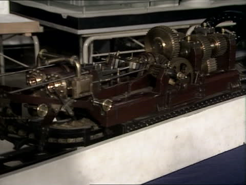 """channel tunnel investigation; england: london: science museum: int alastair stewart in science museum i/c sof: """"welcome back to -- mainland europe.""""... - boredom stock videos & royalty-free footage"""