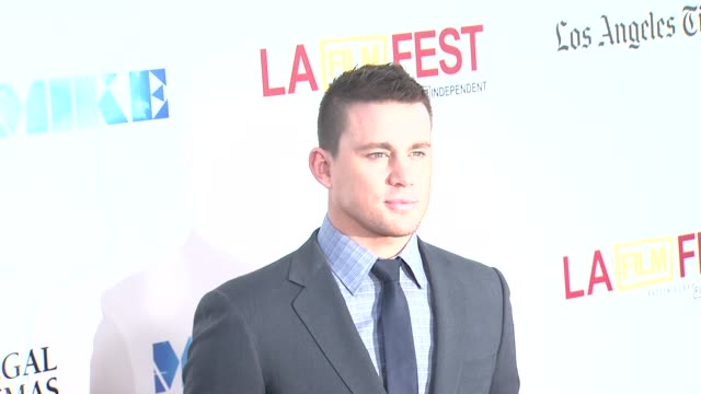 Channing Tatum at 2012 Los Angeles Film Festival Closing Night Gala Premiere of Magic Mike Channing Tatum at 2012 Los Angeles Film Festival C at...