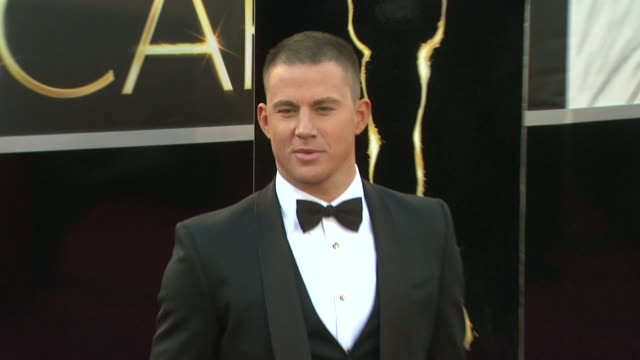 Channing Tatum at 85th Annual Academy Awards Arrivals in Hollywood CA on 2/24/13