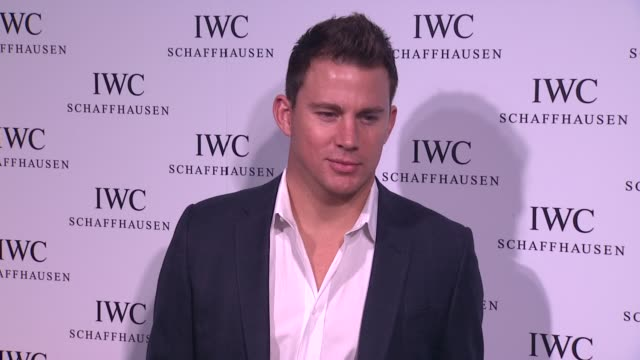Channing Tatum at IWC Flagship Boutique New York City Grand Opening on in New York