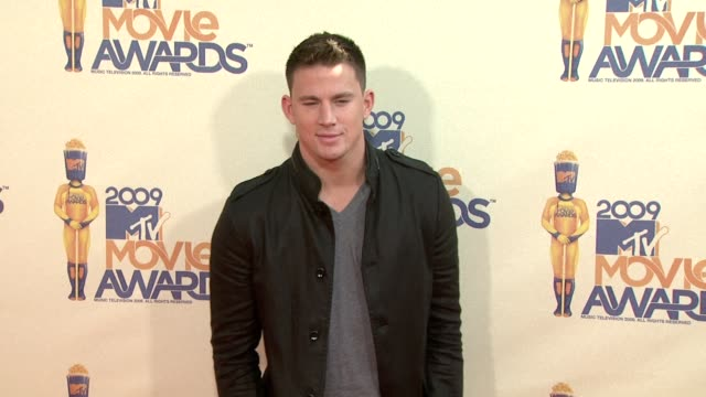 Channing Tatum at the 18th Annual MTV Movie Awards at Universal City CA