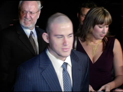 Channing Tatum at the 'Coach Carter' Los Angeles Premiere at Grauman's Chinese Theatre in Hollywood California on January 13 2005