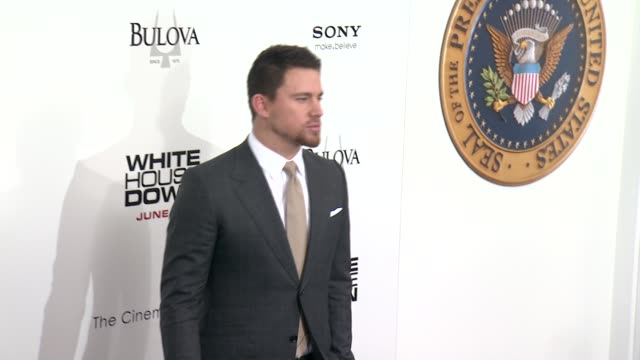 Channing Tatum at White House Down Premiere on June 25 2013 in Ziegfeld Theater New York New York