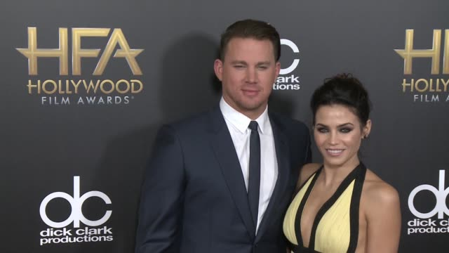 Channing Tatum Jenna Dewan Tatum at 2015 Hollywood Film Awards in Los Angeles CA