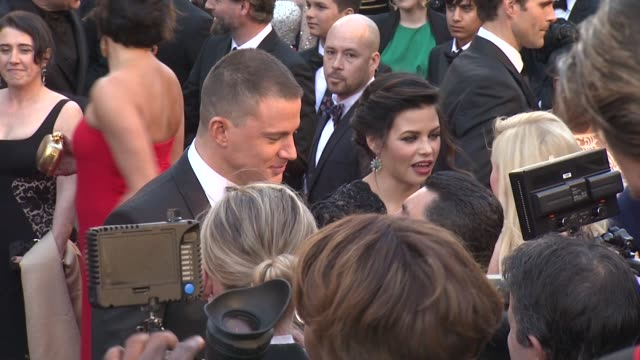 Channing Tatum Jenna DewanTatum at 85th Annual Academy Awards Arrivals 2/24/2013 in Hollywood CA
