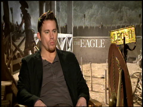 Channing Tatum on how doing this role was a childhood dream come true for him at the 'The Eagle' Junket at Hollywood CA