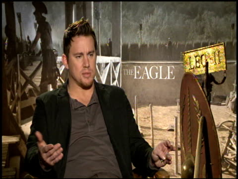 Channing Tatum on what he learned about the era while shooting at the 'The Eagle' Junket at Hollywood CA