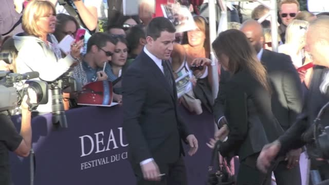 channing tatum «white house down» red carpet at the 2013 deauville film festival deauville, france 1st september 2013 - 2013 stock videos & royalty-free footage